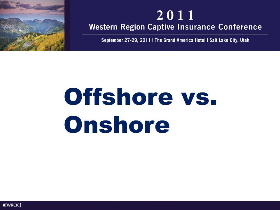 Offshore vs. Onshore #[WRCIC]